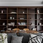 一野设计—140m² |有颜色的黑白灰——书房图片
