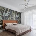 旧房改造-时髦混搭的撞色之家——卧室图片