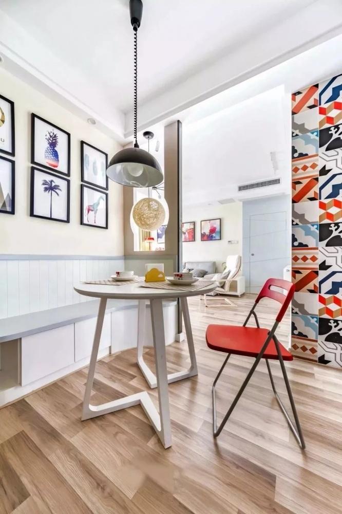 跳跃厨房现代简约餐厅设计图片赏析