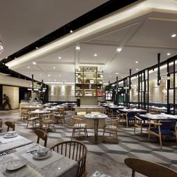"""餐厅空间设计,""""艺鼎新作"""",表叔茶餐厅——座位区图片"""