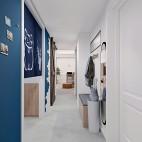 48平米日式风格——玄关图片