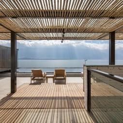 风景下的建造 – 大理慢屋·极目度假酒店——下院屋顶平台景观图片