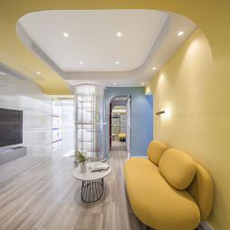 40只萌宠之家改造成马赛公寓——客厅图片