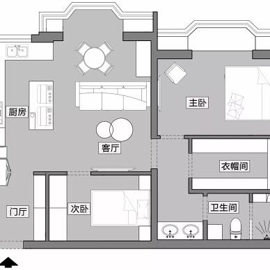 小户型也可以拥有炫酷的全黑色厨房_3763058