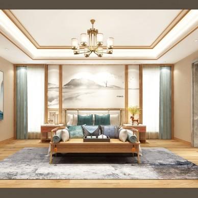 新中式卧室_3764321