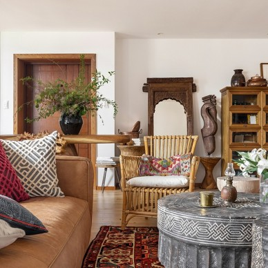 潮范儿旅行达人的家全是老物件和木工手作_3768009