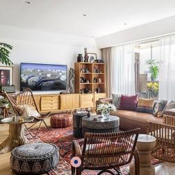 潮范兒旅行達人的家全是老物件和木工手作——客廳圖片