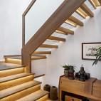 潮范儿旅行达人的家全是老物件和木工手作——楼梯图片