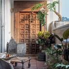 潮范儿旅行达人的家全是老物件和木工手作——阳台图片
