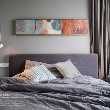玖柞原創—那一抹夢想藍——臥室圖片