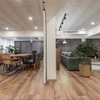 现代简约—无框——客餐厅图片