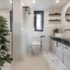 现代简约—无框——卫生间图片