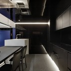 复式—电视隐身、楼梯悬浮——厨房图片