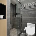 70平小房子秒变100平——卫生间图片