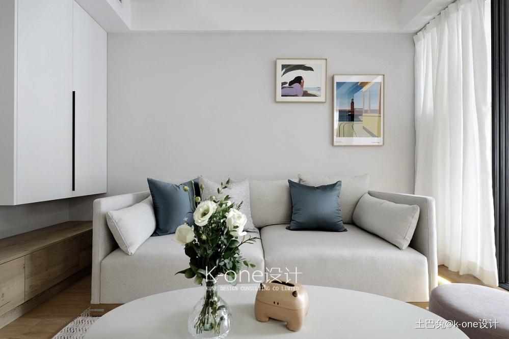 微·光客厅窗帘现代简约客厅设计图片赏析