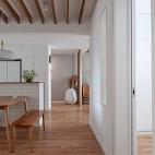 浅木色的日式北欧家,真是太治愈了——餐厅图片