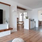 浅木色的日式北欧家,真是太治愈了_3773359