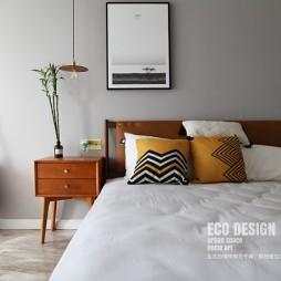 清晨美式——臥室圖片