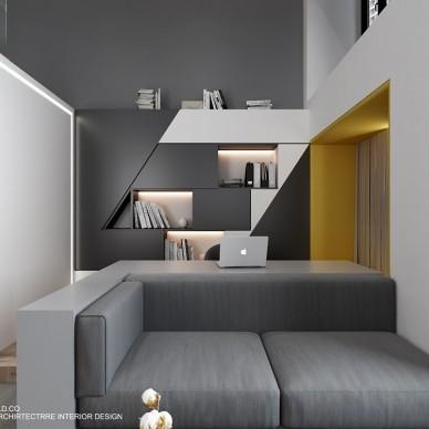 M公寓   小小空间 不一样的质感生活_3774890
