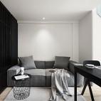 單身男設計師的Loft公寓——客廳圖片