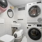 125平米現代簡約——衛生間圖片