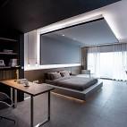 280平米現代簡約——臥室圖片