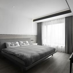 140平米现代简约——卧室图片