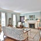 美式风情的浪漫演绎法——客厅图片