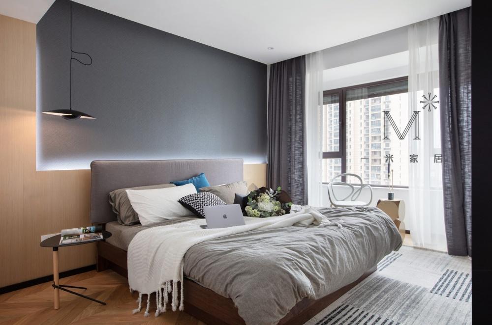 """一间有质感的单身公寓助你""""早日成家""""卧室4图现代简约卧室设计图片赏析"""