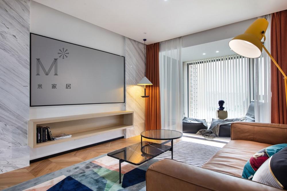 """一间有质感的单身公寓助你""""早日成家""""客厅4图现代简约客厅设计图片赏析"""
