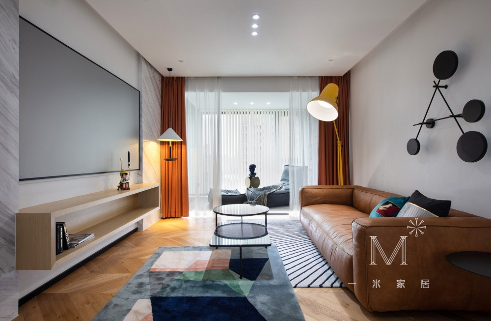 """一间有质感的单身公寓助你""""早日成家""""客厅2图现代简约客厅设计图片赏析"""