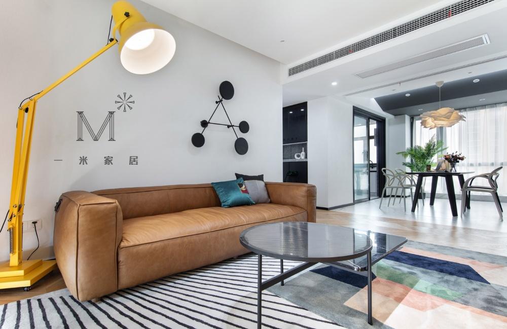 """一间有质感的单身公寓助你""""早日成家""""客厅5图现代简约客厅设计图片赏析"""