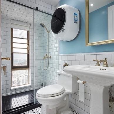 禾舍设计 极简浪漫轻法式,典雅精致美宅——卫生间图片
