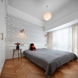 禾舍設計 極簡浪漫輕法式,典雅精致美宅——臥室圖片