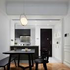 禾舍設計 極簡浪漫輕法式,典雅精致美宅——餐廳圖片