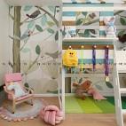北歐極簡—愛在盛夏 繡球花開——兒童房圖片