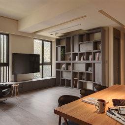 《极致灰-汽车设计师的家》——书房图片
