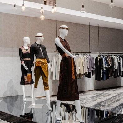 空间的纯粹 | 服装企业展厅