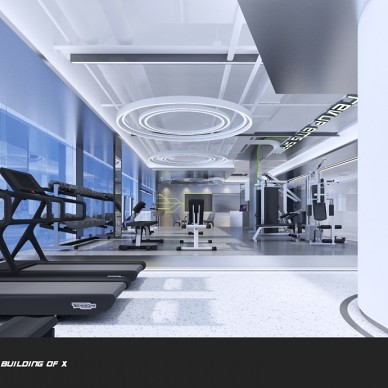 REVUP SPACE 连锁健身空间设计_3785592
