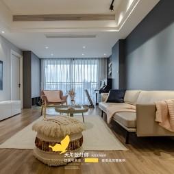 天用|两房完美改三房——客厅图片