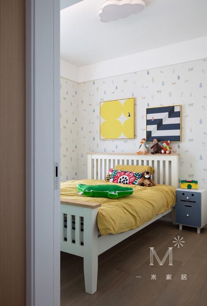 【一米家居】Ninaの家×老房改造卧室现代简约卧室设计图片赏析
