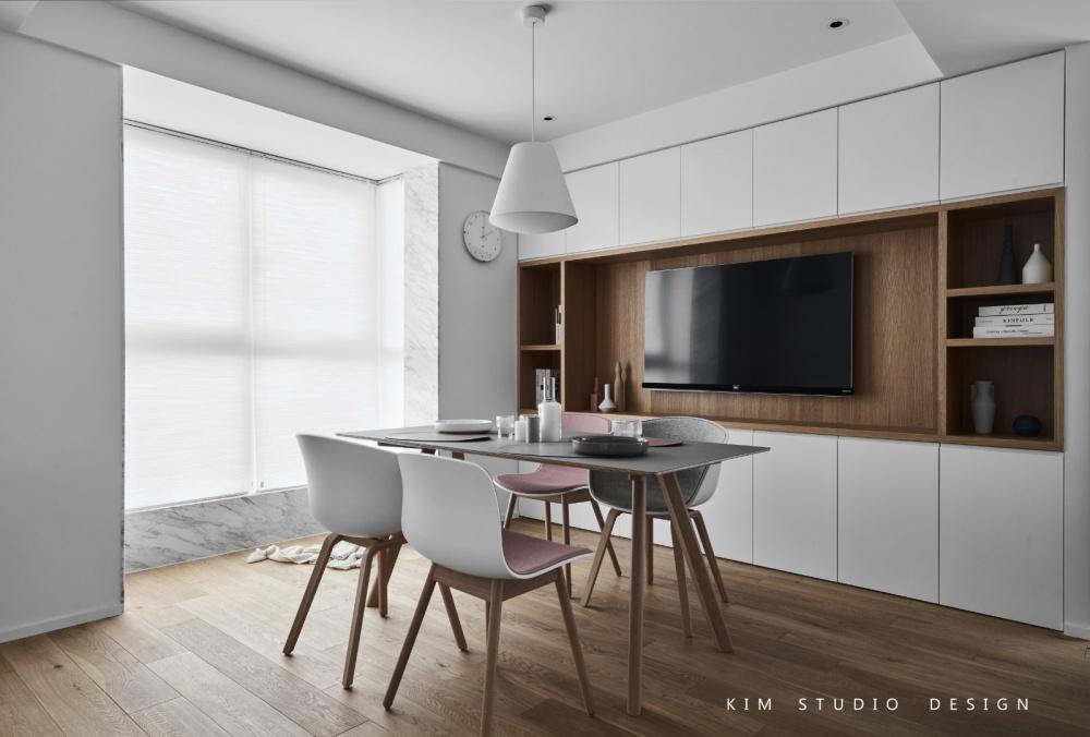 Joyful|原木色的日式小清新厨房6图日式餐厅设计图片赏析