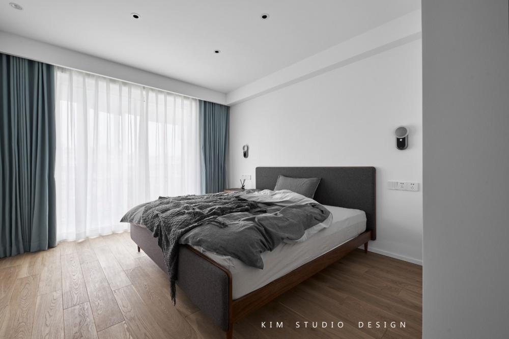 Joyful|原木色的日式小清新卧室1图日式卧室设计图片赏析