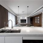 140平现代极简,餐厅厨房很漂亮_3798279