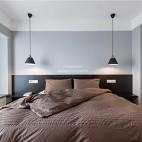 140平现代极简,餐厅厨房很漂亮——卧室图片