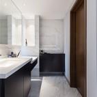 140平现代极简,餐厅厨房很漂亮——卫生间图片
