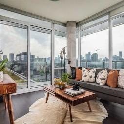 92㎡精致兩居室大落地窗的輕奢體驗——客廳圖片