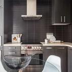 92㎡精致两居室大落地窗的轻奢体验——厨房图片