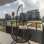 92㎡精致两居室大落地窗的轻奢体验——阳台图片