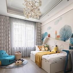 北京京投公园悦府样板房设计D户型——儿童房图片